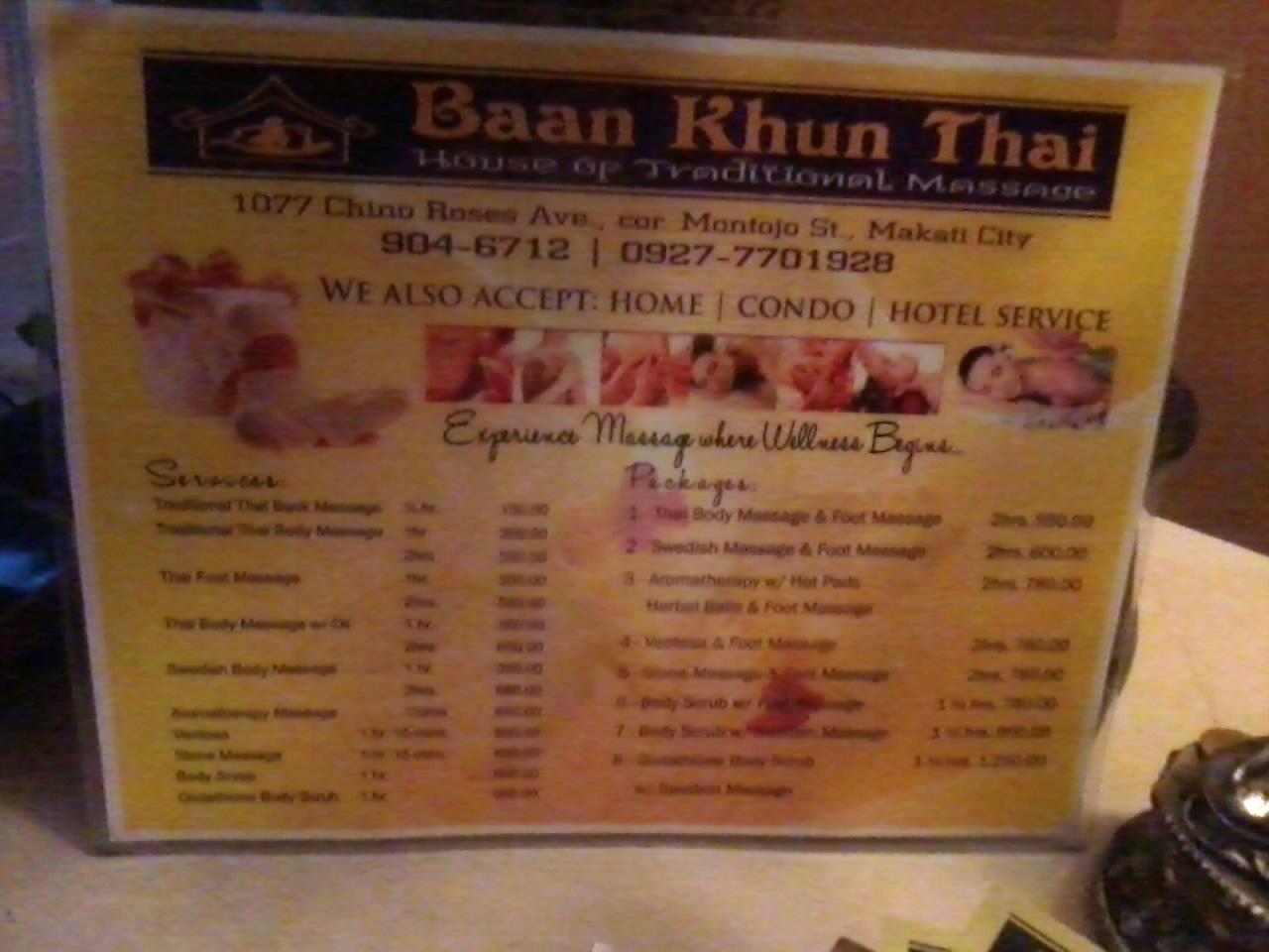 thaimassage årsta baan thai spa